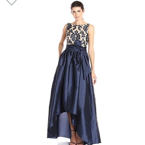 f87ec81c63 Adrianna Papell High Low Taffeta Ball Gown Sz. 2P